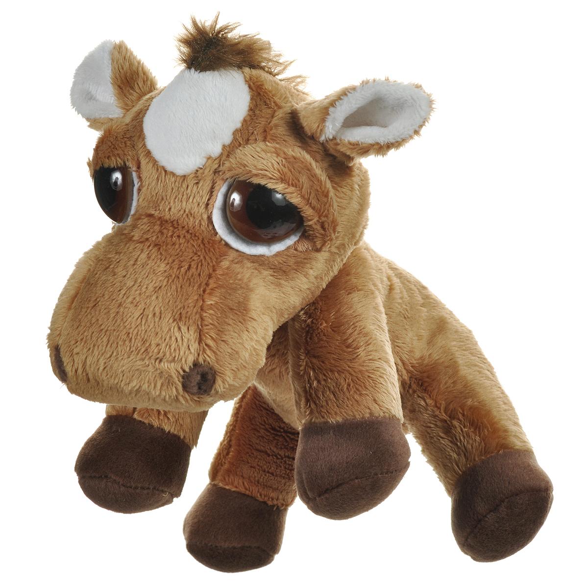 """Мягкая игрушка Russ """"Лошадь Пиперс: Джамбалайя"""", цвет: коричневый, 23 см"""