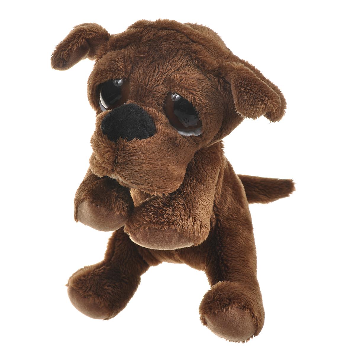 Мягкая игрушка Russ Шарпей Пиперс, цвет: коричневый, 22 см joanna russ the female man
