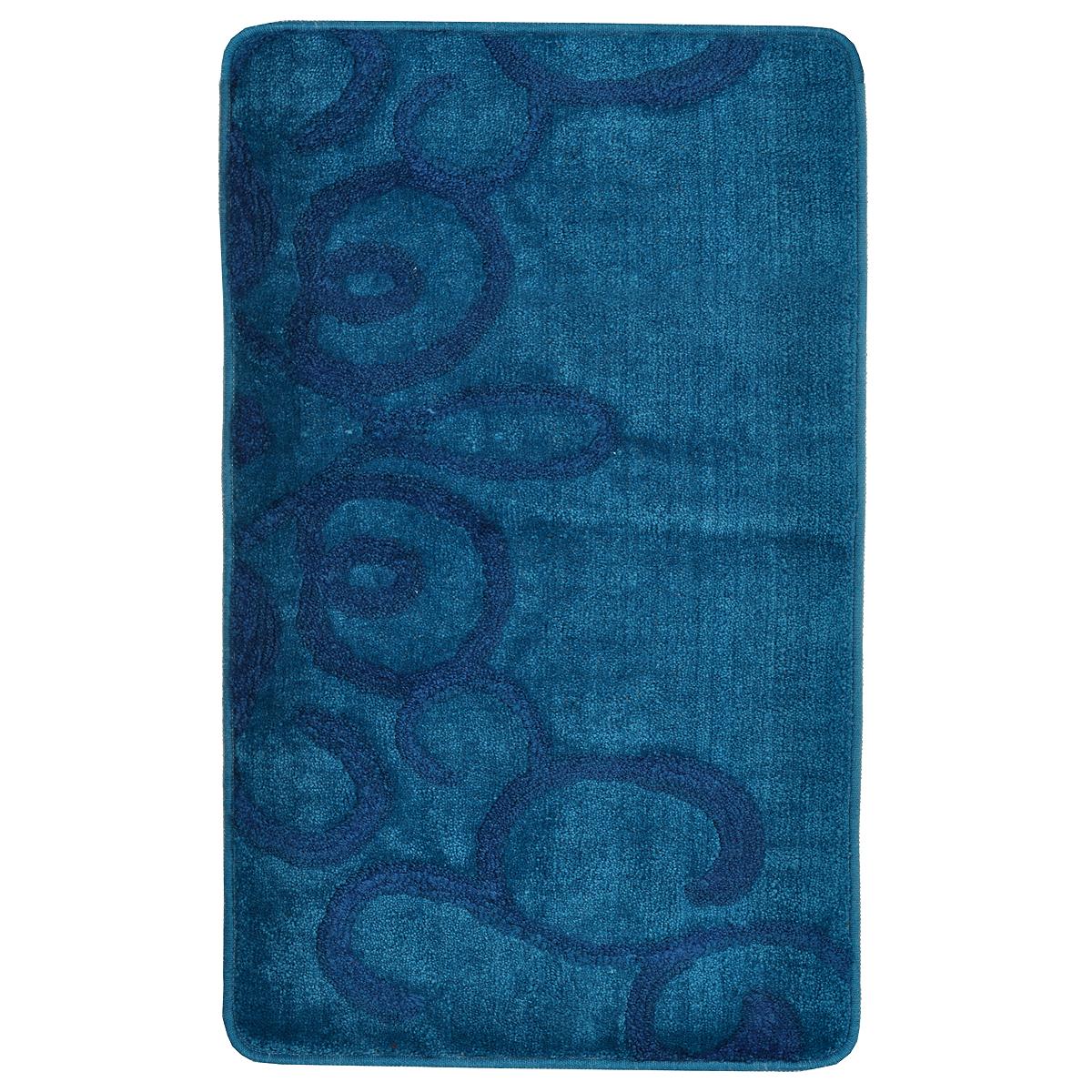 Коврик для ванной комнаты Milardo Fairyland Blue, 50 х 80 см 473PA58M12473PA58M12Коврик для ванной комнаты Milardo Fairyland выполнен из 90% полиэстера и 10% акрила - мягкого и износостойкого материала, который быстро сохнет. Мягкий и приятный на ощупь коврик имеет латексную основу, благодаря которой он не скользит по полу. Края коврика обработаны оверлоком. Можно использовать на полу с подогревом.Коврик можно стирать в стиральной машине в щадящем режиме при температуре не выше 40°C отдельно от остального белья.