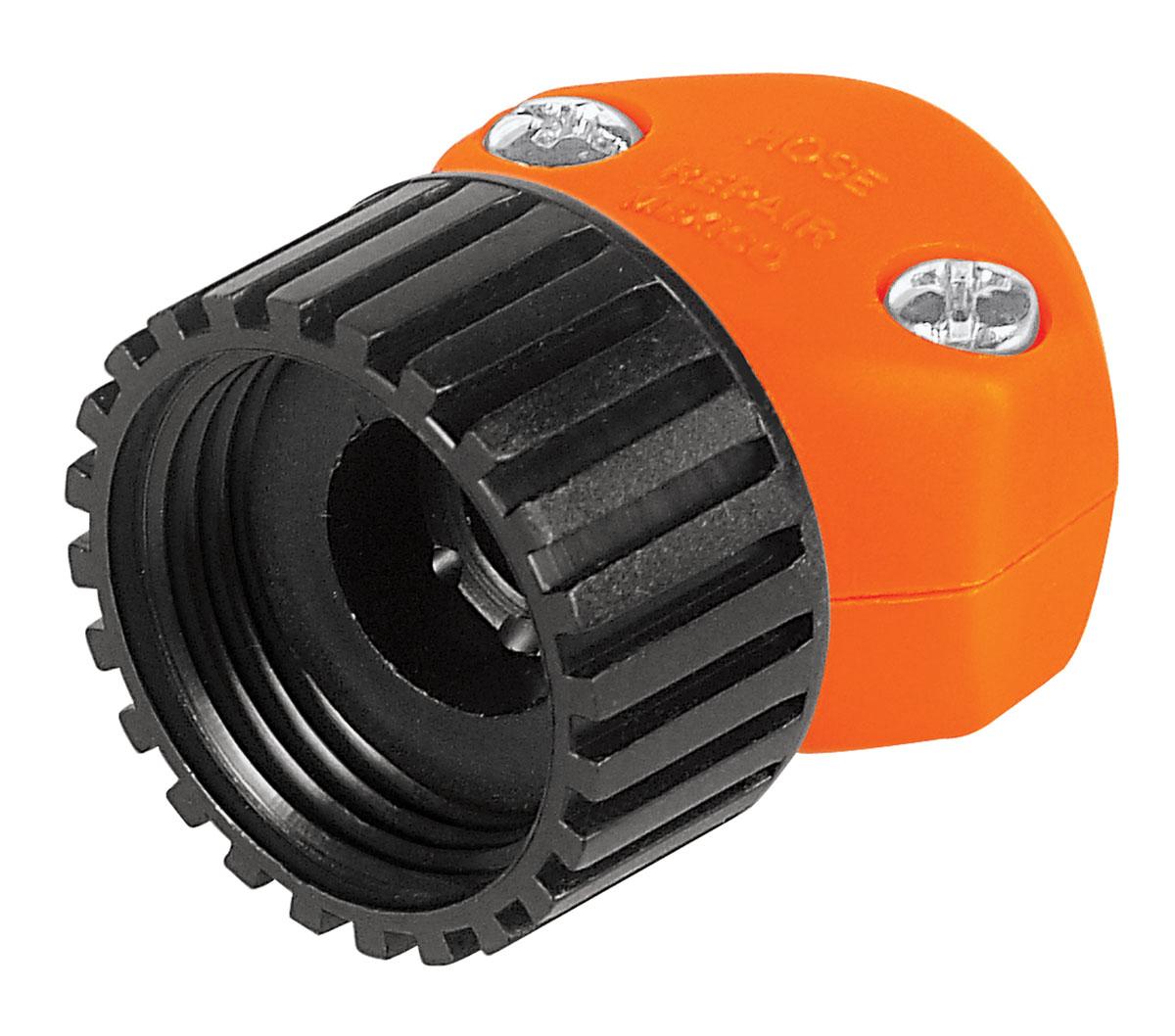 Коннектор ремонтный для шланга Truper, пластиковый, мама, 1/2REF-1/2Шланговый коннектор Truper, выполненный из пластика, предназначен для быстрого и многократного присоединения и отсоединения шланга к насадкам или крану. Тип соединения мама.