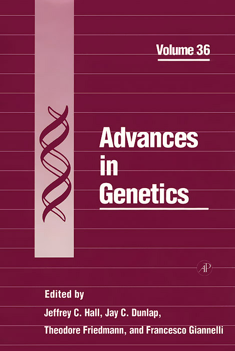 Advances in Genetics: Volume 36 2 1 blu ray