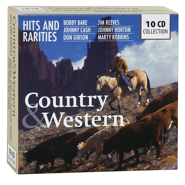 Zakazat.ru Country & Western. 200 Hits And Rarities (10 CD)