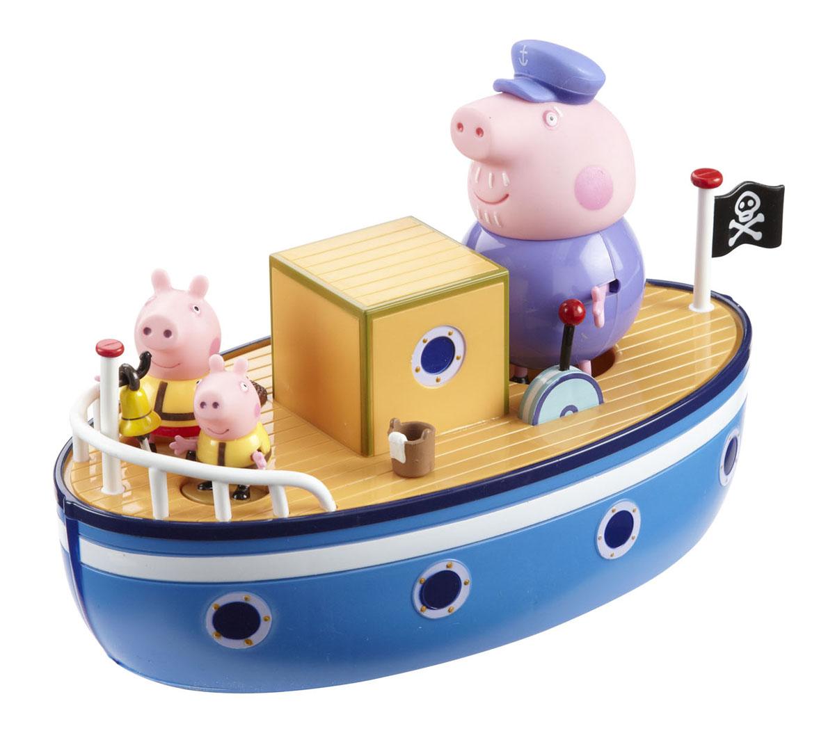 """Игровой набор Peppa Pig """"Морское приключение"""""""