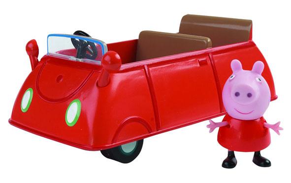 Игровой набор Peppa Pig Машина Пеппы игровые наборы свинка пеппа peppa pig игровой набор кафе мороженое ребекки