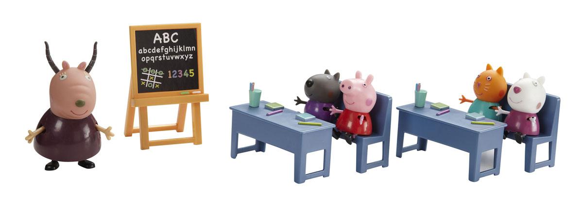 Игровой набор Peppa Pig Идем в школу обувь в школу
