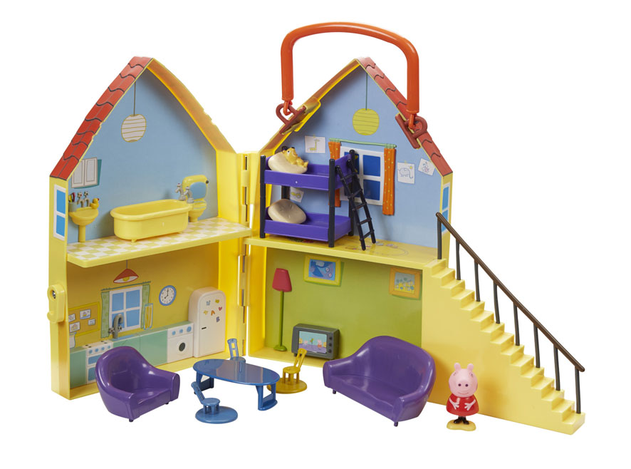 Игровой набор Peppa Pig Дом Пеппы игровой набор кухня пеппы peppa pig игровой набор кухня пеппы