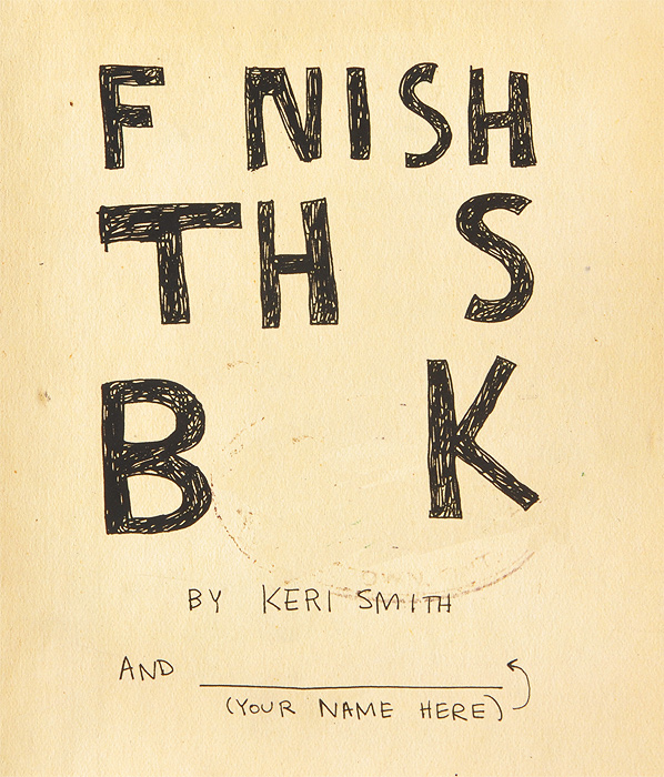 Finish This Book i found you