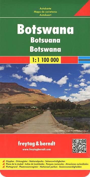 Botswana: Road Map starwind shc4210 отзывы