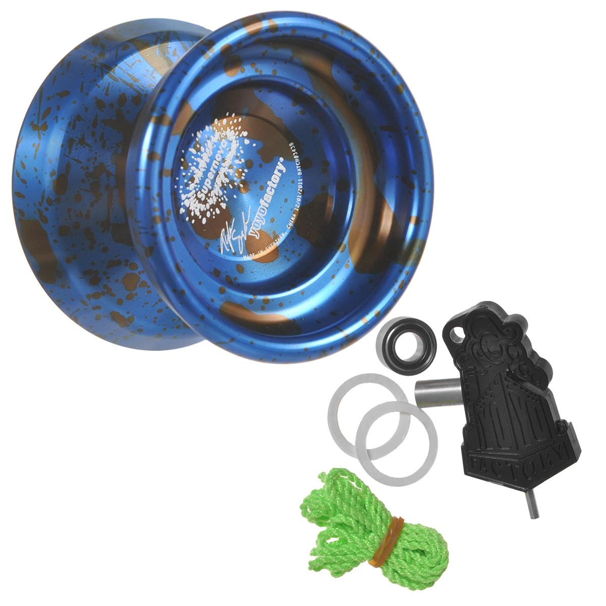 Йо-йо YoYoFactory Supernova, цвет: синий, черный supernova adidas