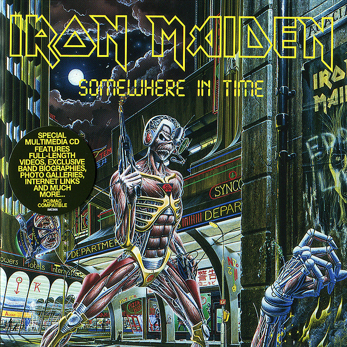 Iron Maiden Iron Maiden. Somewhere In Time (ECD) iron maiden iron maiden somewhere in time
