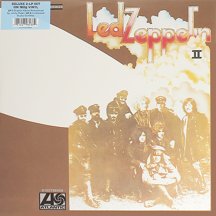 Led Zeppelin Led Zeppelin. Led Zeppelin II (2 LP) led zeppelin led zeppelin led zeppelin ii 2 lp