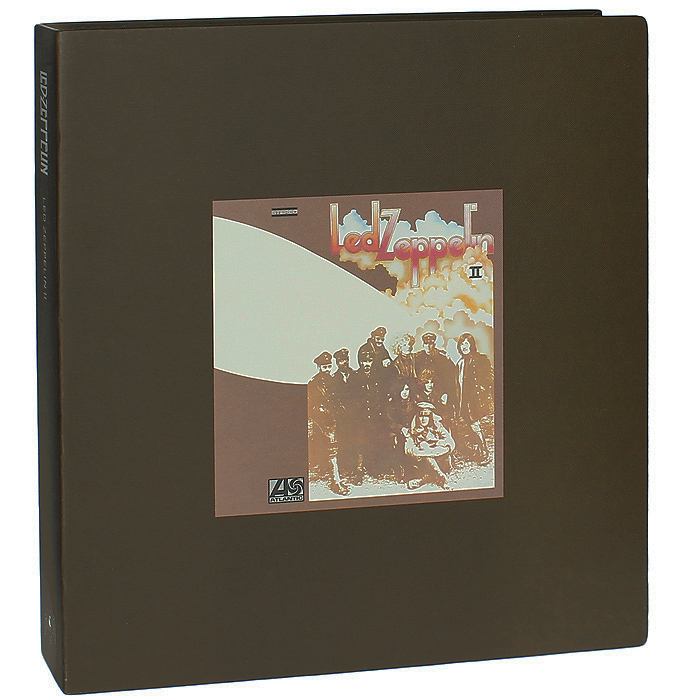 Led Zeppelin Led Zeppelin. Led Zeppelin II. Super Deluxe Edition (2 LP + 2 CD) cd led zeppelin iv deluxe cd edition