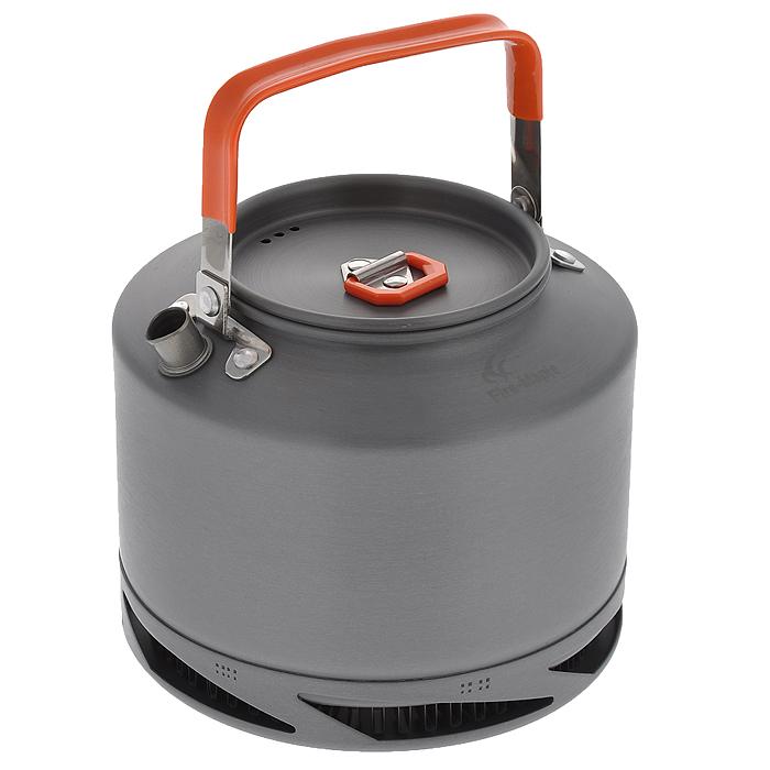 Чайник походный Fire-Maple Feast XT2, с теплообменной системой, 1,5 лFMC-XT2Походный чайник Fire-Maple Feast XT2 с теплообменной системой, изготовленный из анодированного алюминия - это незаменимая вещь в походе, особенно когда хочется быстро приготовить горячий чай или кофе на нескольких человек. Встроенная теплообменная система комбинирована с ветрозащитным экраном, тем самым энергоэффективность увеличивается на 30%, а время закипания воды сокращается на 30%. Контролируемая температура внутри теплообменной системы, очень быстро нагревает воду, и вы можете наслаждаться горячим чаем в любое время и в любом месте. Ручка чайника и ручка крышки имеет термоизолирующие элементы для сохранения вашей безопасности от ожогов.Все соединения чайника и теплообменной системы приварены по технологии фланцевого соединения.