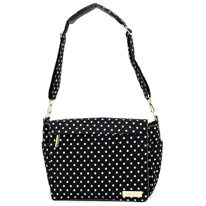 Сумка для мамы Ju-Ju-Be Better Be Legacy. The Dutchess, цвет: черный, белый сумка для мамы ju ju be hobobe pink pinwheels 12hb01a 8737