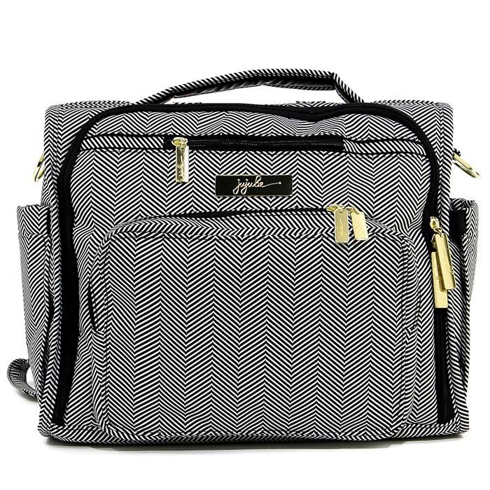 Сумка-рюкзак для мамы Ju-Ju-Be B.F.F. Legacy. Gueen Of The Nile, цвет: черный, серый сумка для мамы ju ju be hobobe pink pinwheels 12hb01a 8737