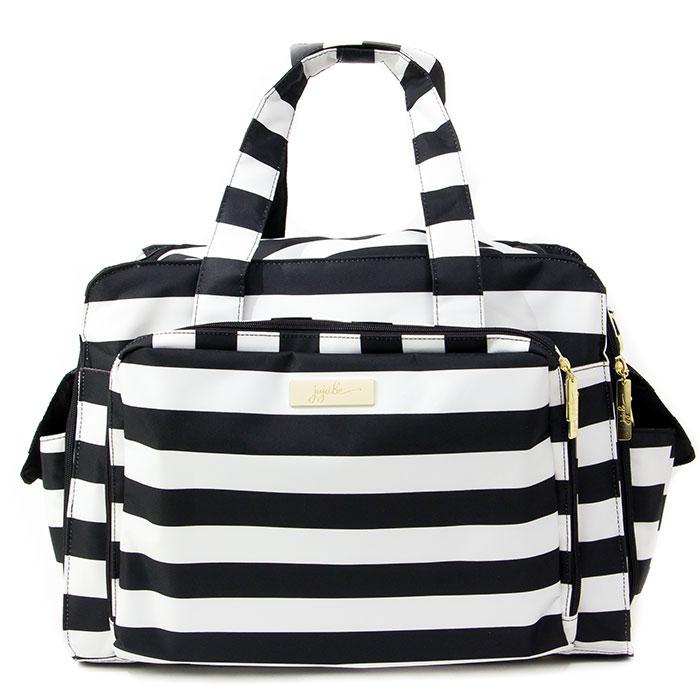 Дорожная сумка для мамы Ju-Ju-Be  Be Prepared Legasy. The First Lady , цвет: черный, белый - Сумки для мам