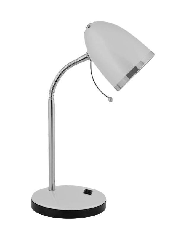Настольный светильник Camelion KD-308 (C03), Silver настольный светильник camelion kd 308 c01 white