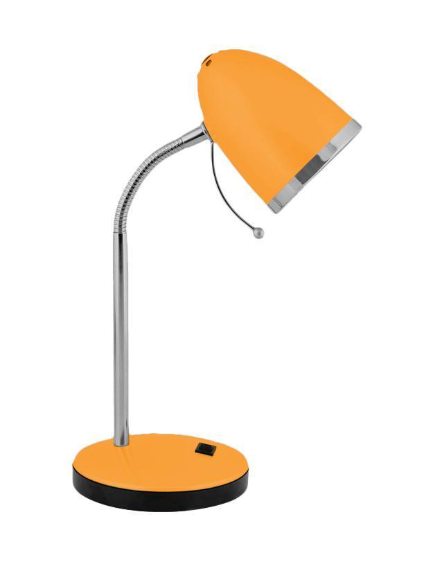 Настольный светильник Camelion KD-308 (C11), Orange настольный светильник camelion kd 308 c01 white