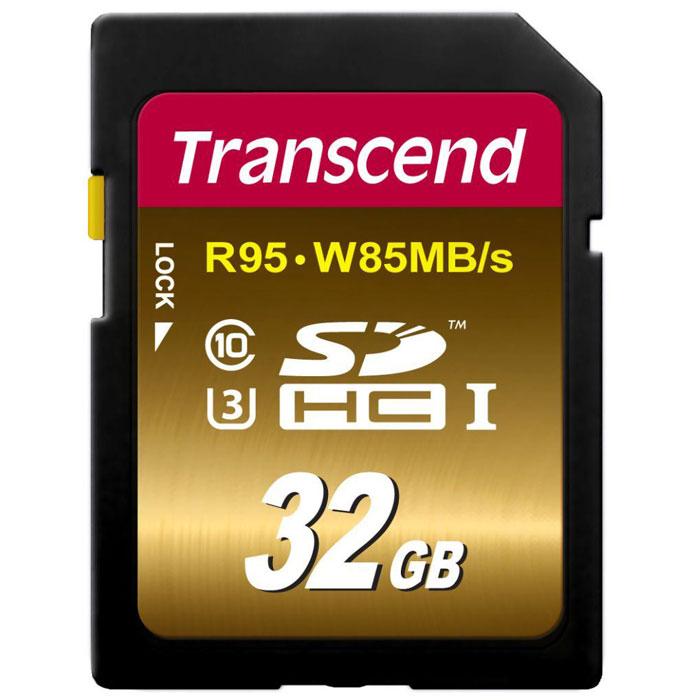 Transcend SDHC Class 10 UHS-I U3Х 32GB карта памятиTS32GSDU3XКарты памяти Transcend SDHC UHS-I Speed Class 3 (U3) способны с легкостью справиться с потоками данных, генерируемыми цифровыми камерами, совместимыми со стандартом UHS-I. Благодаря рекордным скоростям чтения и записи, которые достигают 95 и 85 МБ/с, соответственно, они позволяют записывать видео сверхвысокого разрешения 4K и существенно сэкономить время, требуемое на переписывание видео на компьютер. Встроенная технология ECC позволяет обнаруживать и исправлять ошибки при передаче данных.Эксклюзивная программа RecoveRx обеспечивает надежное восстановление удаленных и утраченных данных с портативных носителей.Внимание: перед оформлением заказа, убедитесь в поддержке Вашим электронным устройством карт памяти данного объема.