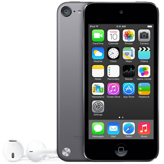 Apple iPod Touch 5G 32GB, Space Grey mp-3 плеер apple ipod touch 6g 64gb space grey mp 3 плеер