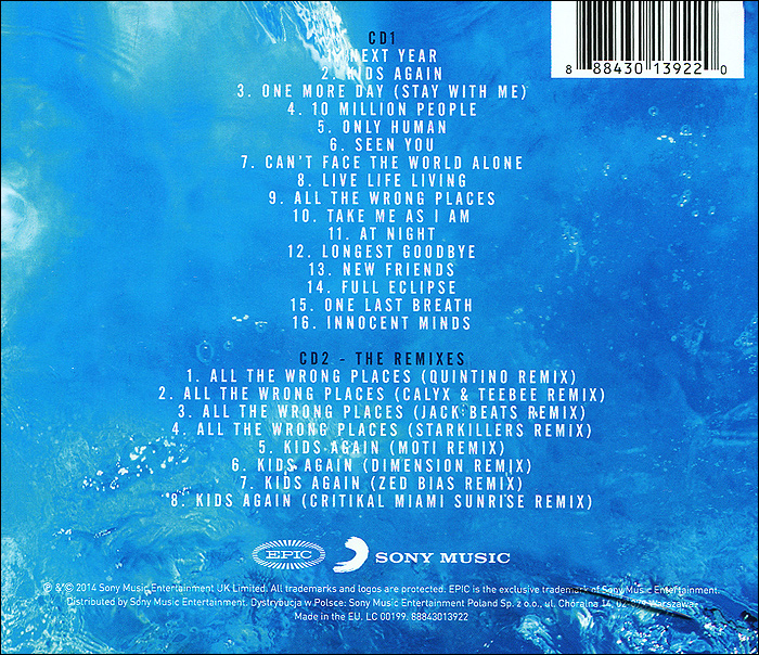 Example.  Live Life Living (2 CD)