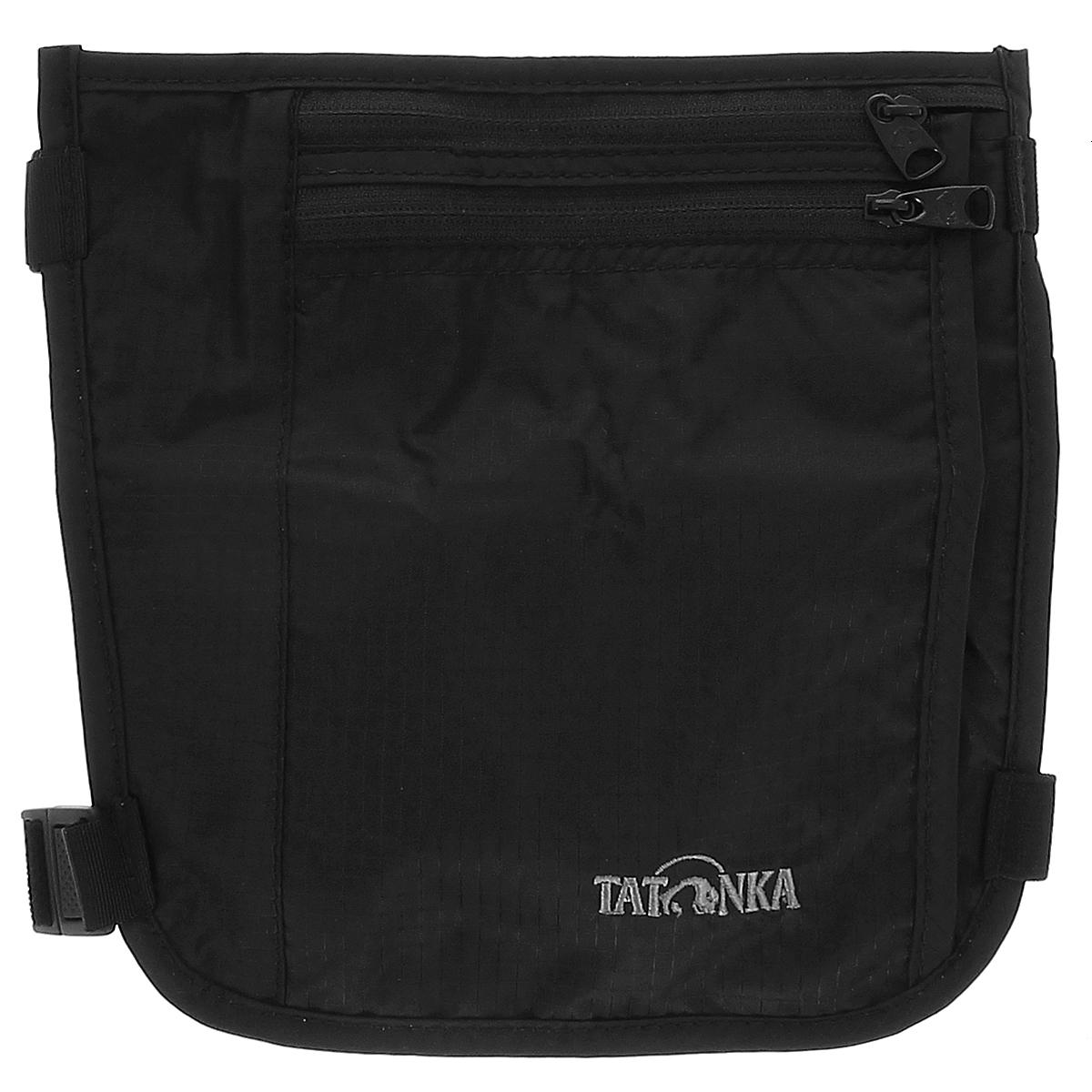 Кошелек на голень Tatonka Skin Secret Pocket, потайной, цвет: черный