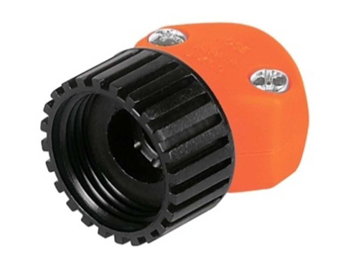 Коннектор ремонтный для шланга Truper, пластиковый, мама, 5/8-3/4 коннектор ремонтный для шланга truper пластиковый мама 5 8 3 4