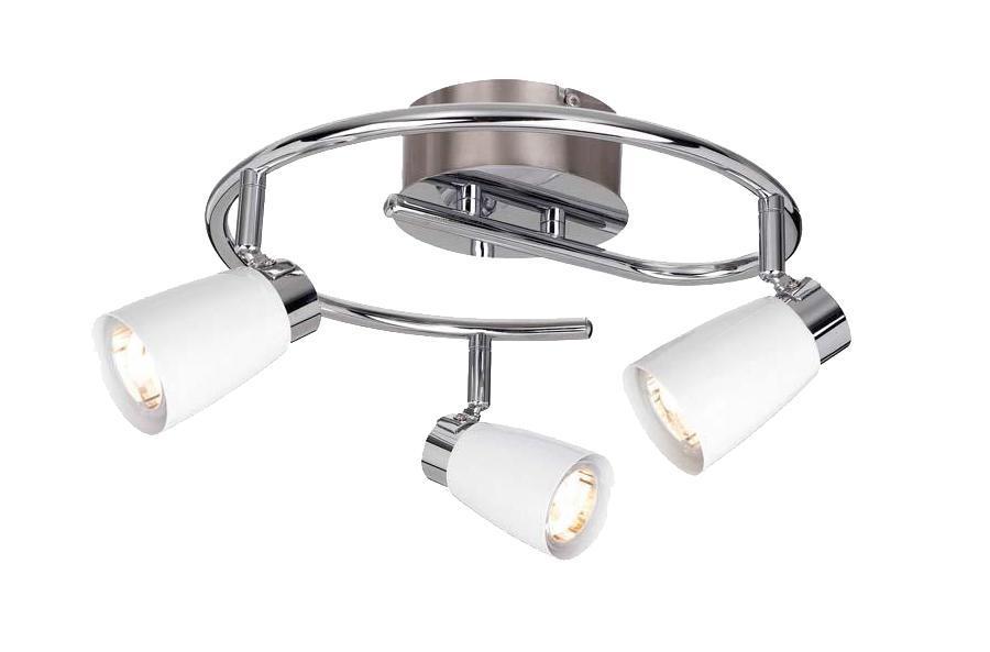 Настенно-потолочный светильник MarkSLojd VEDDIGE 103051103051103051 Светильник настенно-потолочный, VEDDIGE, белый-хром, GU10 3*7WW