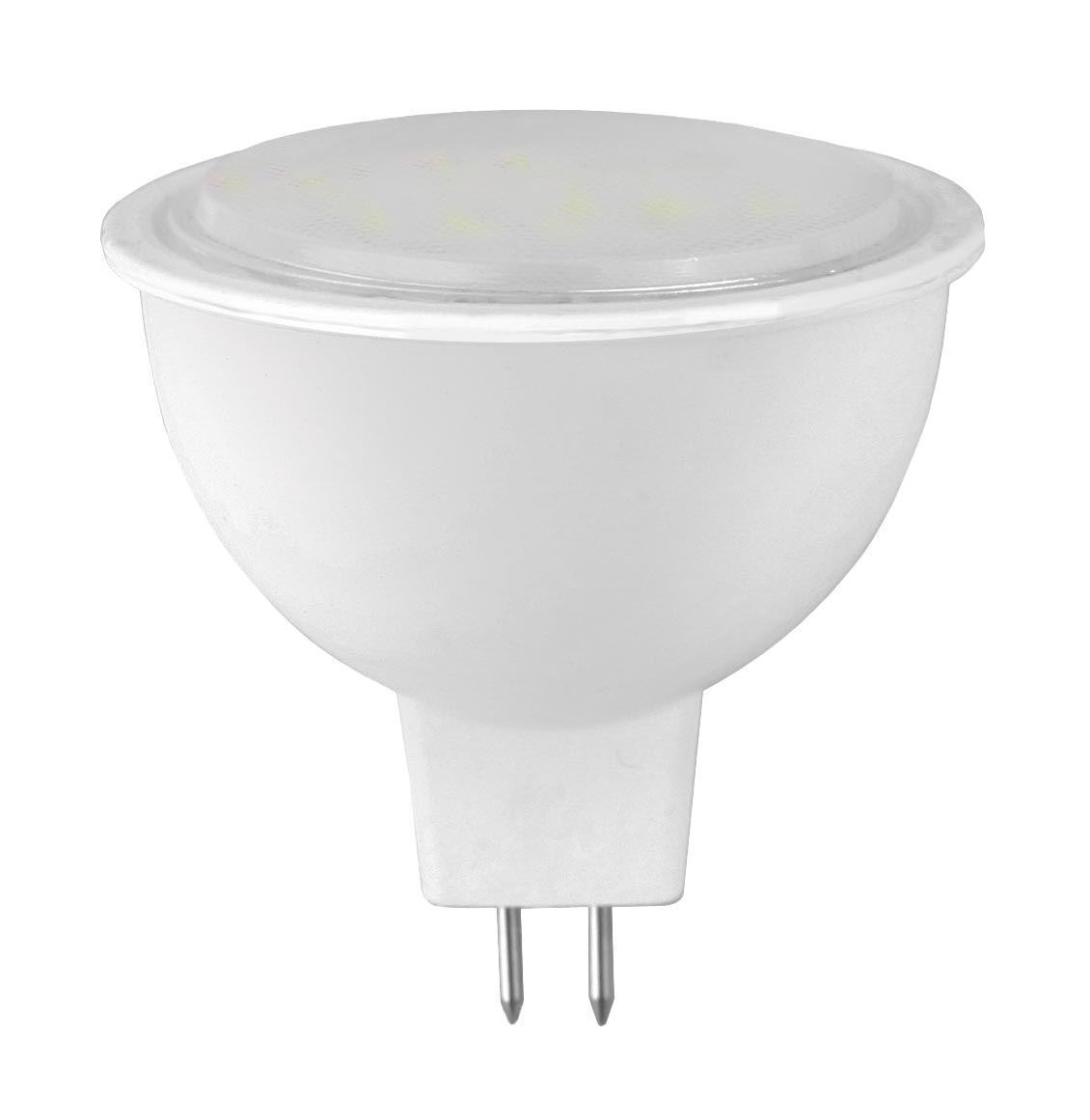 Camelion LED5-JCDR/830/GU5.3 светодиодная лампа, 5ВтLED5-JCDR/830/GU5.3Высокая вибро- и ударопрочность - отсутствуют нить накаливания и хрупкие стеклянные трубки. Широкий температурный диапазон эксплуатации (от -30 C до +40 C) - возможность использования ламп вне помещений. Могут применяться как для основного, так и для акцентированного освещения. Экономия электроэнергии до 90% без ущерба для освещенности и качества света по сравнению с обычными лампами накаливания такой же яркости. Мгновенное включение и выход на полную яркость. Светодиодные лампы для точечных светильников - это замена традиционных и повсеместно используемых галогенных ламп типа JCDR.Отличительной особенностью светодиодных ламп точечного света является низкое энергопотребление и почти отсутствие нагрева в процессе эксплуатации. При этом -это лампы с высоким сроком службы 30 000 - 50 000 часов. Если вы хотите экономить, и готовы на начальном этапе потратиться, тогда ваш выбор светодиодное освещение. Если же по каким-то причинам светодиодные источники света вас не устраивают, но при этом вы хотите все же экономить - обратите внимание на энергосберегающие компактные люминесцентные лампы точечного света.Напряжение: 220-240 В / 50 Гц.