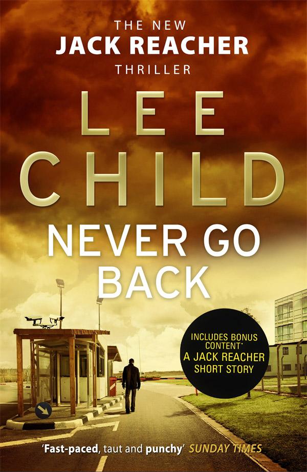 Never Go Back child l make me a jack reacher novel