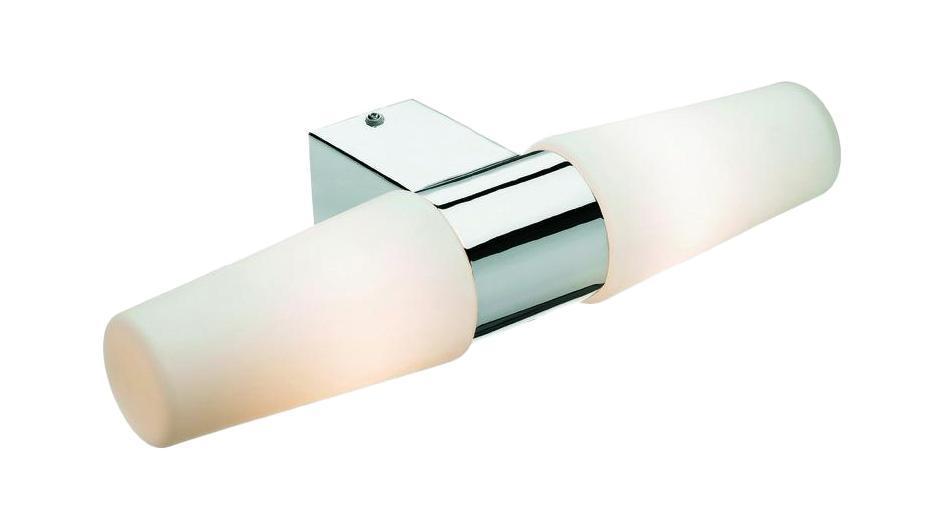 Настенно-потолочный светильник MarkSLojd VALLINGE с розеткой 103086103086103086 Светильник настенный, VALLINGE с розеткой, хром-опал, E14 2*40WW