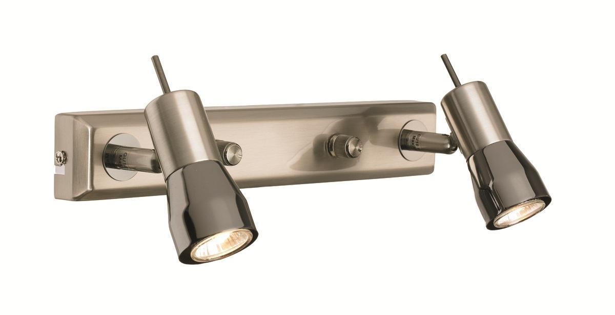 Бра MarkSLojd TITANIA 261041261041261041 Светильник настенный, TITANIA, сталь-черный хром, GU10MINI 2*35WW