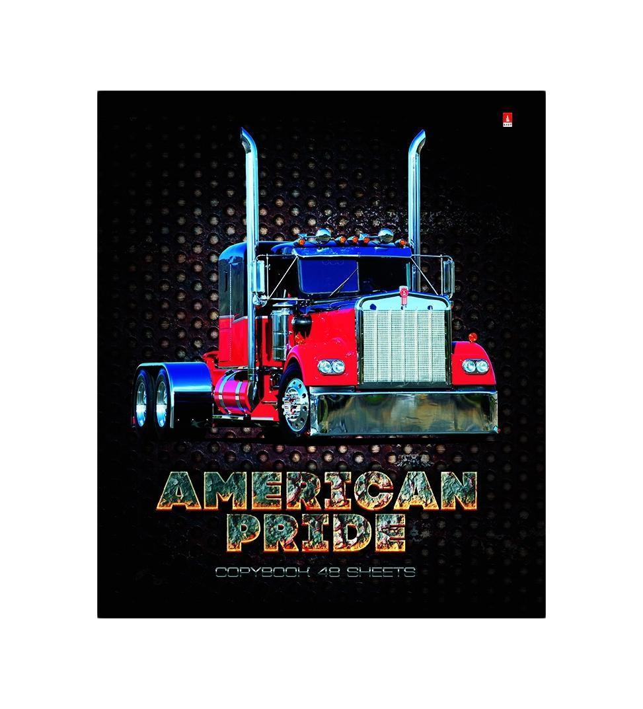 Набор тетрадей Альт American Pride, 48 листов, 5 шт ктс про набор тетрадей вид из окна 48 листов в клетку цвет бордовый 5 шт