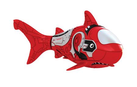 Игрушка для ванны Robofish РобоРыбка: Акула, цвет: красный