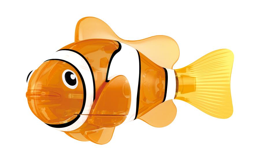 Игрушка для ванны Robofish Светодиодная РобоРыбка: Красная сирена, цвет: оранжевый, белый игрушка для ванны robofish светодиодная роборыбка биоптик цвет фиолетовый розовый