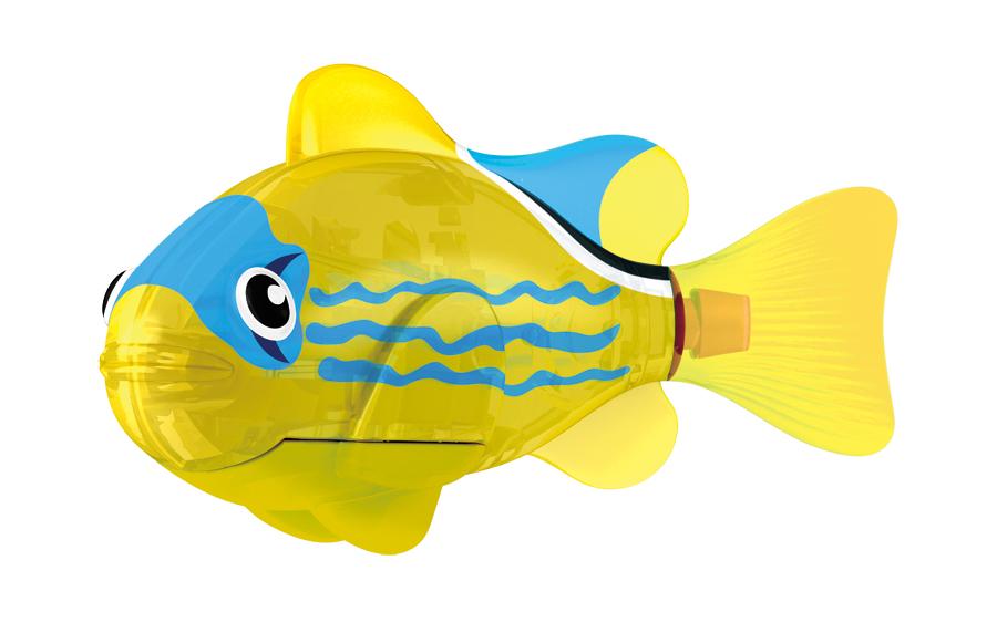 Игрушка для ванны Robofish Светодиодная РобоРыбка: Желтый фонарь, цвет: желтый игрушка для ванны robofish светодиодная роборыбка биоптик цвет фиолетовый розовый