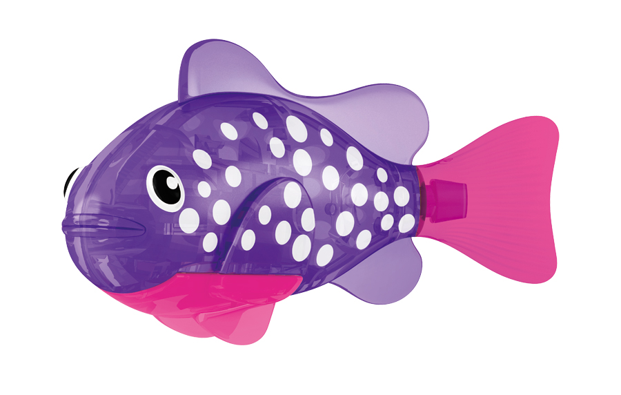 Игрушка для ванны Robofish Светодиодная РобоРыбка: Биоптик, цвет: фиолетовый, розовый игрушка для ванны robofish светодиодная роборыбка биоптик цвет фиолетовый розовый
