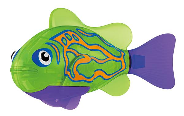 Игрушка для ванны Robofish Тропическая РобоРыбка: Мандаринка, цвет: зеленый