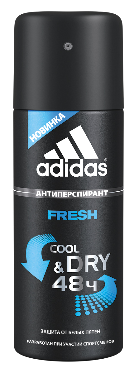 "Adidas ""Action 3 Fresh For Man"". Дезодорант-антиперспирант, 150 мл"