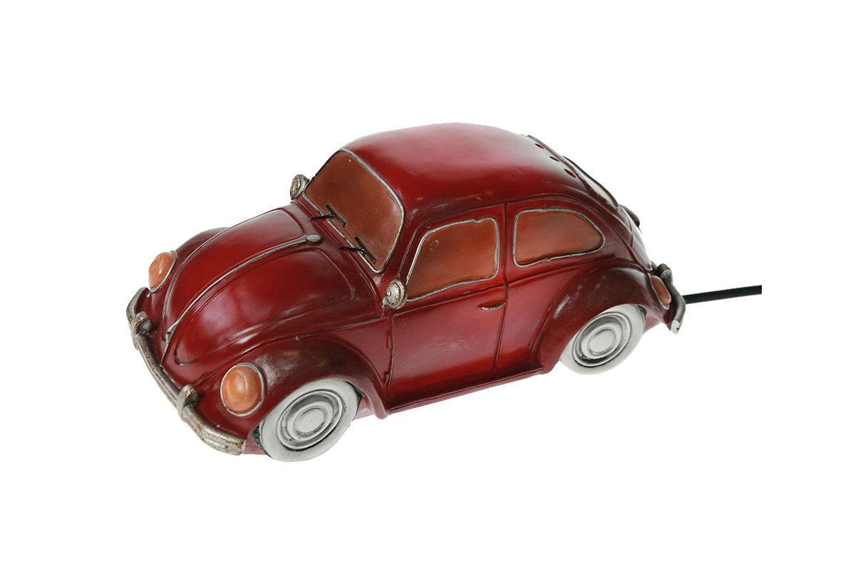 """Светильник """"Ретро авто"""" 28*13*13 см Материал: полистоун, эл. металла; цвет: красный ; размеры: 28*13*13"""