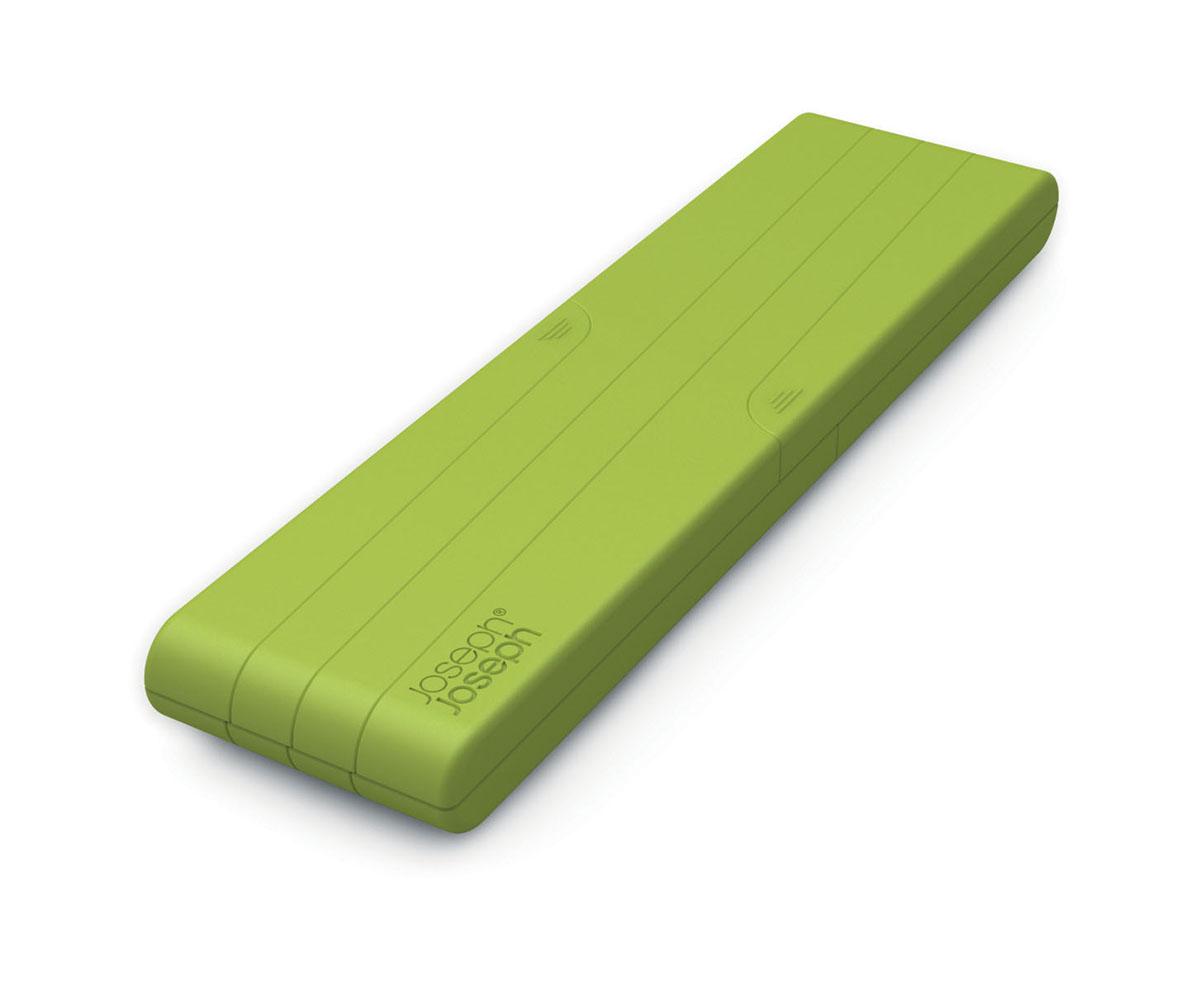 Подставка под горячее Joseph Joseph Stretch, раскладная, цвет: зеленый70031Подставка под горячее Joseph Joseph Stretch защитит поверхность вашего стола от высоких температур, царапин и грязи. Изделие выполнено из нейлона с приятным на ощупь силиконовым покрытием, которое выдерживает температуру до +340°С. Изделие раскладывается как гармошка, поэтому подходит для любых размеров посуды. В сложенном виде занимает минимум места. Инновационный дизайн, качество исполнения и невероятная практичность сделают подставку под горячее Joseph Joseph Stretch незаменимым аксессуаром на вашей кухне. Можно мыть в посудомоечной машине.