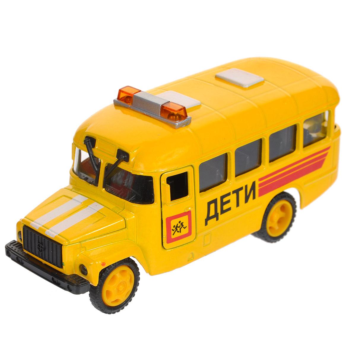 ТехноПарк Машинка инерционная КАвЗ Дети пламенный мотор машинка инерционная volvo пожарная охрана