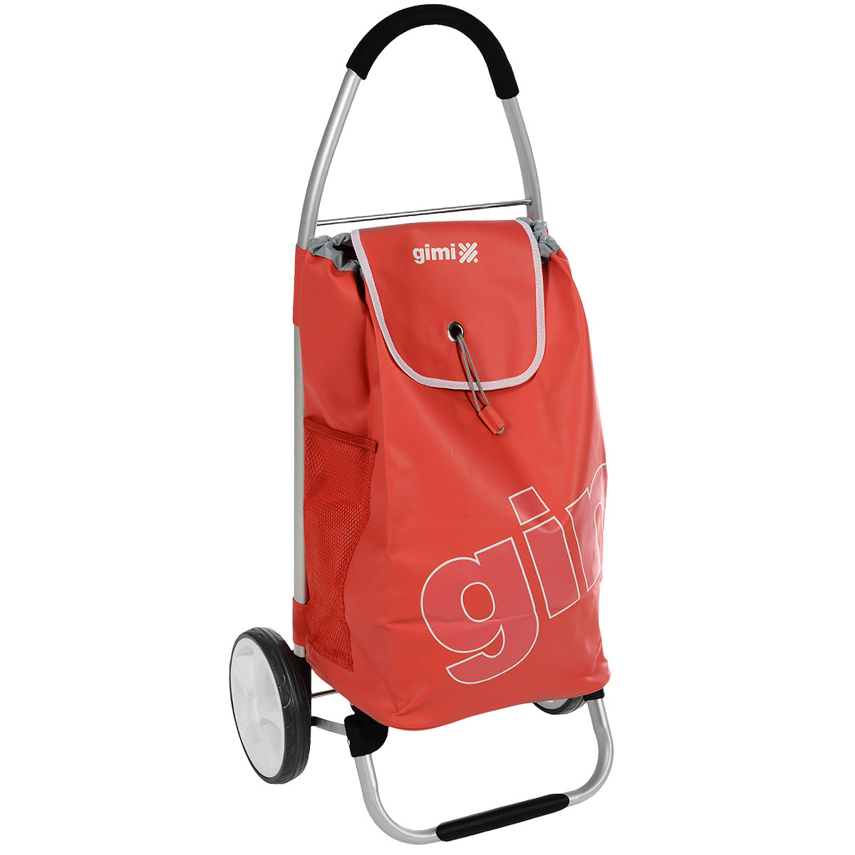 Сумка-тележка Gimi Galaxy, цвет: красный тележка для фляги в твери
