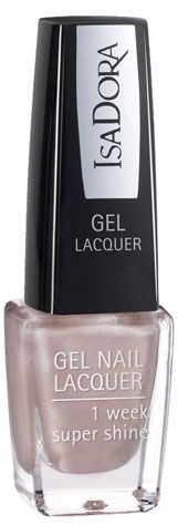 Isa Dora Лак для ногтей Gel Nail Lacquer, гелевый, тон №221 Iced Coffee, 6 мл лак для ногтей orly smartgels nail lacquer 008 цвет 008 lift the veil variant hex name f7c5c8