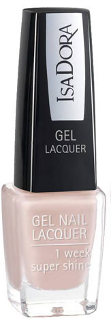 Isa Dora Лак для ногтей Gel Nail Lacquer, гелевый, тон №220 Classy Nude, 6 мл230220