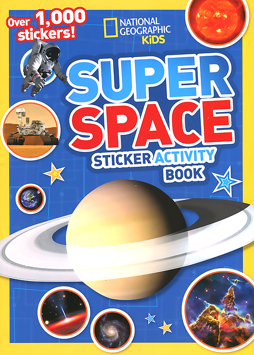 Super Space: Sticker Activity Book space activity book