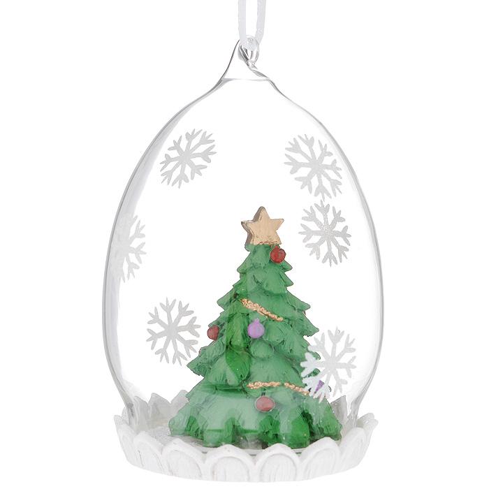 Новогоднее подвесное украшение Елка. 3440134401Новогоднее украшение Елка отлично подойдет для декорации вашего дома и новогодней ели. Игрушка выполнена из пластика в виде узорной новогодней елочки. Украшение декорировано блестками и оснащено специальной текстильной петелькой для подвешивания. Елочная игрушка - символ Нового года. Она несет в себе волшебство и красоту праздника. Создайте в своем доме атмосферу веселья и радости, украшая всей семьей новогоднюю елку нарядными игрушками, которые будут из года в год накапливать теплоту воспоминаний.