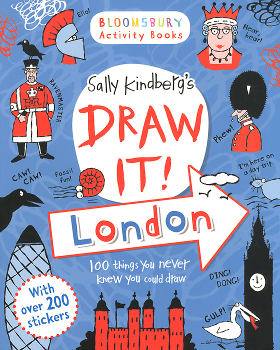 Draw it! London: 100 Things You Never Knew You Could Draw 50 things to spot in london набор из 52 карточек