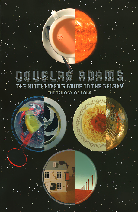The Hitchhiker's Guide to the Galaxy life the universe and everything