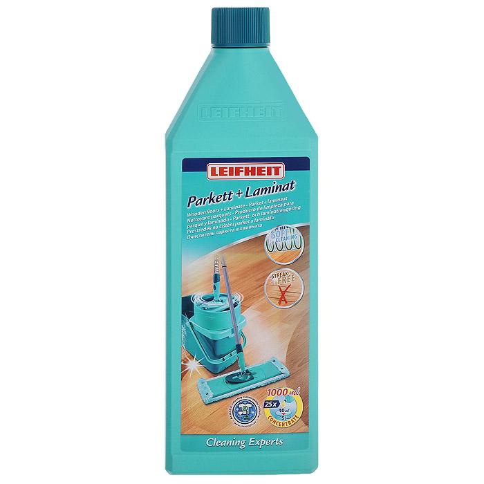 Чистящее средство Leifheit для ухода за паркетом и ламинатом, 1 л41415Чистящее средство Leifheit предназначено для бережной чистки паркета и ламината. Средство не оставляет разводов и пятен от воды. Высокообогащенного концентрата хватает на 25 применений.